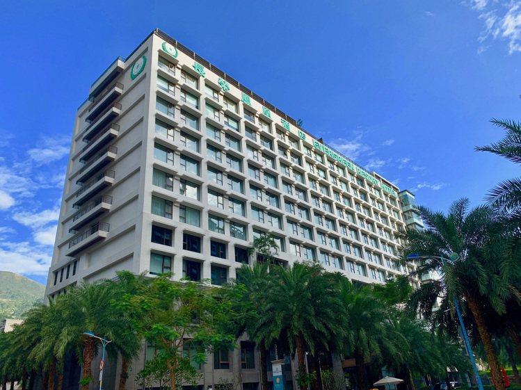 長榮鳳凰酒店房間數是礁溪各酒店之冠。圖/長榮鳳凰酒店提供
