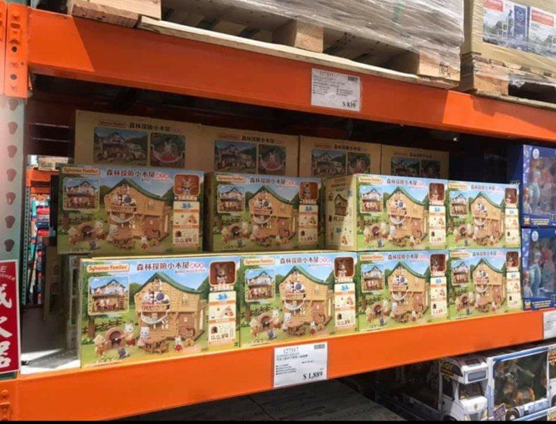 好市多開賣「森林探險小屋」價格超殺引起會員搶購。圖/擷取自臉書社團「Costco好市多 商品經驗老實說」