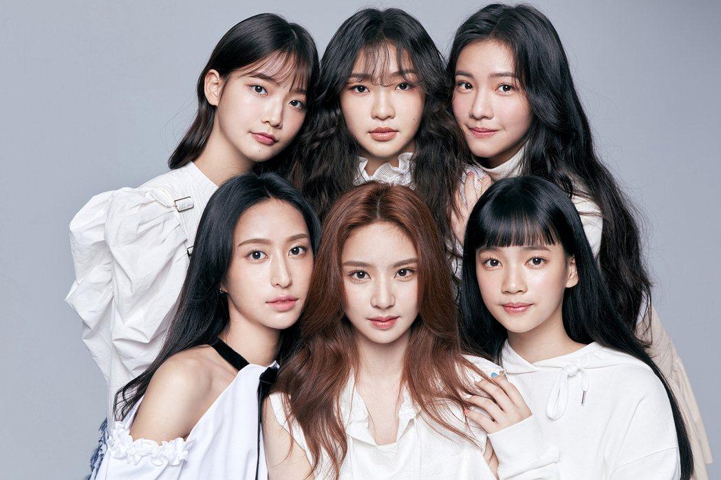 女團「PER6IX」是陳子鴻力捧而成。圖/喜歡音樂提供