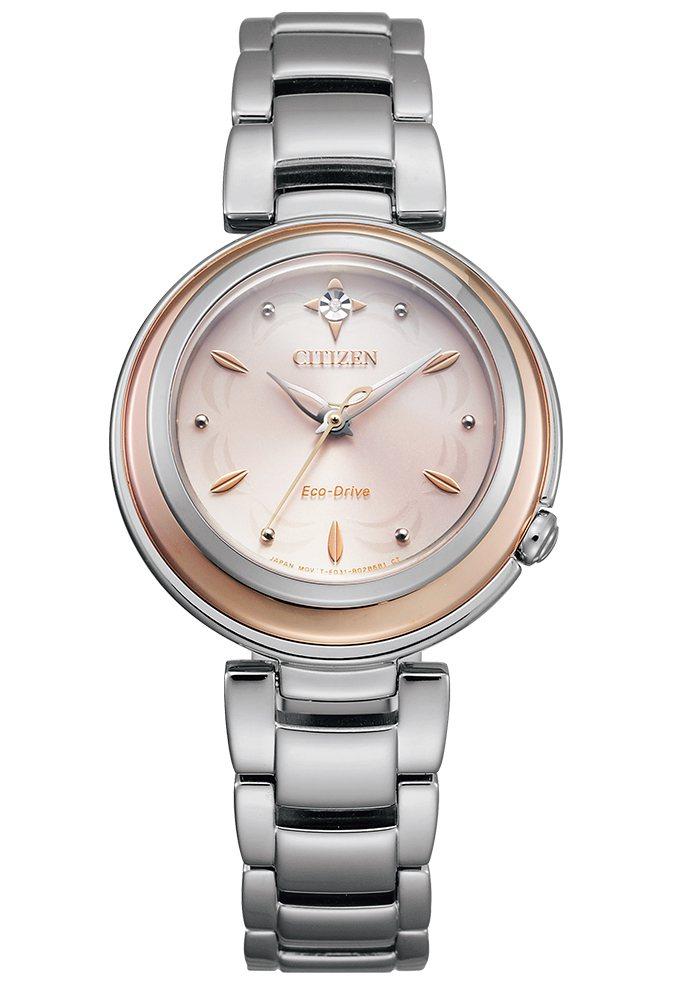 星辰表EM0589-88X腕表,不鏽鋼表殼、表鍊,13,800元。圖/CITIZ...