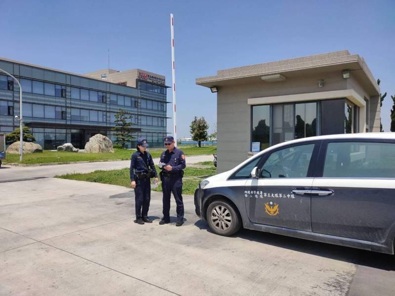 中科二林園區保警隊預計4月20日進駐,維護治安。記者宋健生/攝影