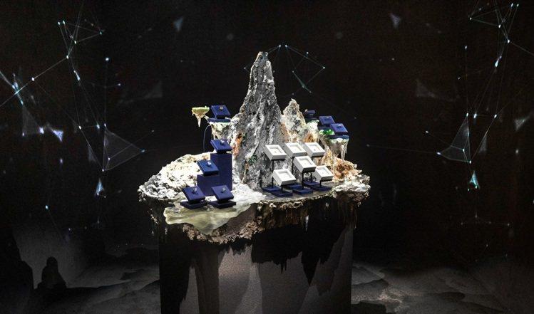 DE BEERS NATURE'S WONDERS頂級珠寶展由藝術家李霽首次為頂...