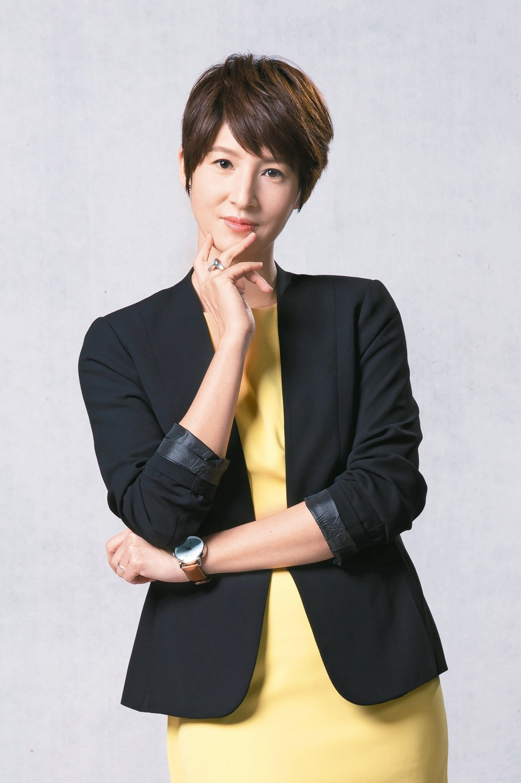 夏嘉璐目前是TVBS當家主播。圖/TVBS提供