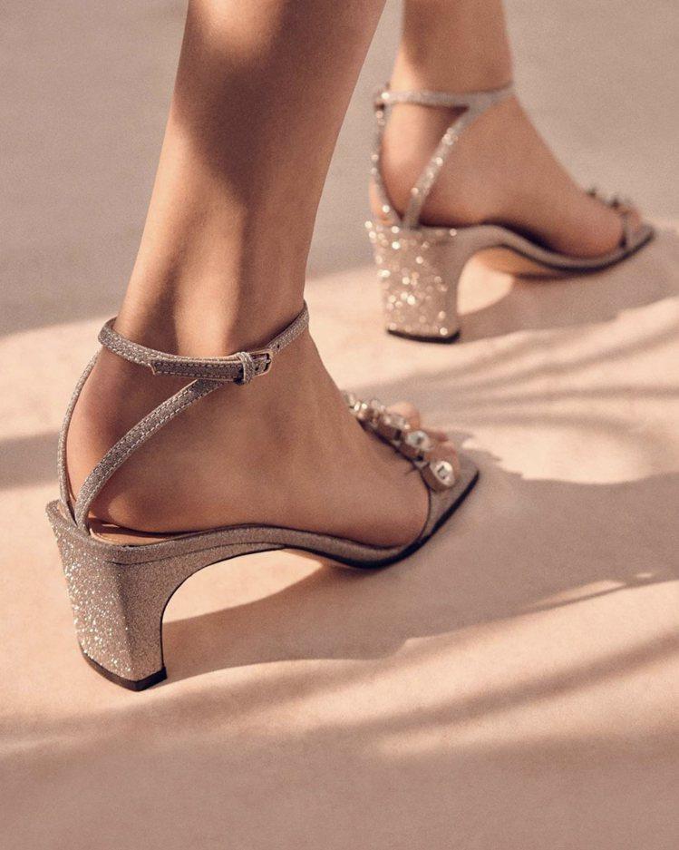 sergio rossi經典sr1系列涼鞋。圖/取自品牌IG