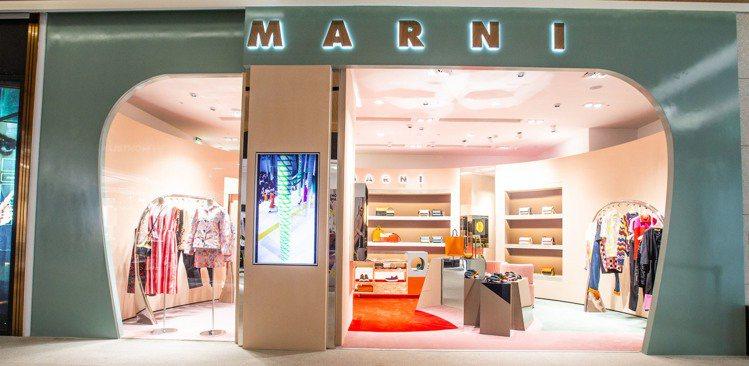 義大利品牌MARNI重返台灣,在遠百信義A13設立專門店。圖/MARNI提供