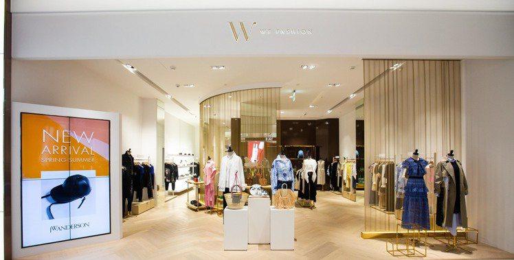 時尚選品店WF Fashion於進駐遠百信義A13開設首家專門店。圖/WF Fa...