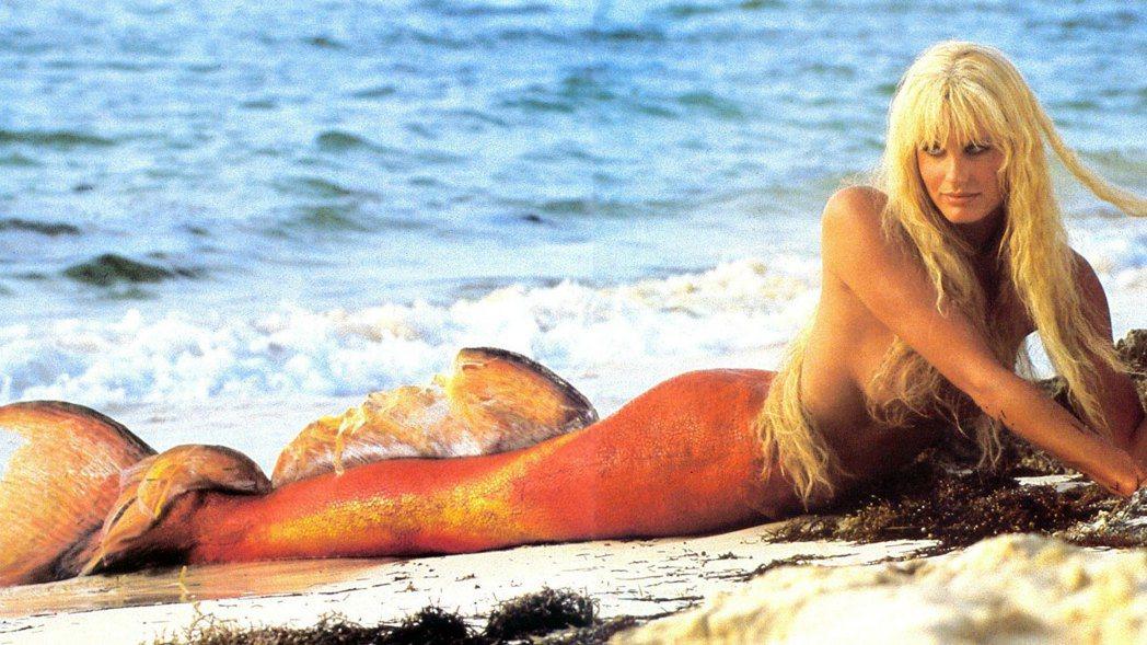 黛瑞漢娜因「美人魚」成為好萊塢搶手美艷女星。圖/摘自imdb