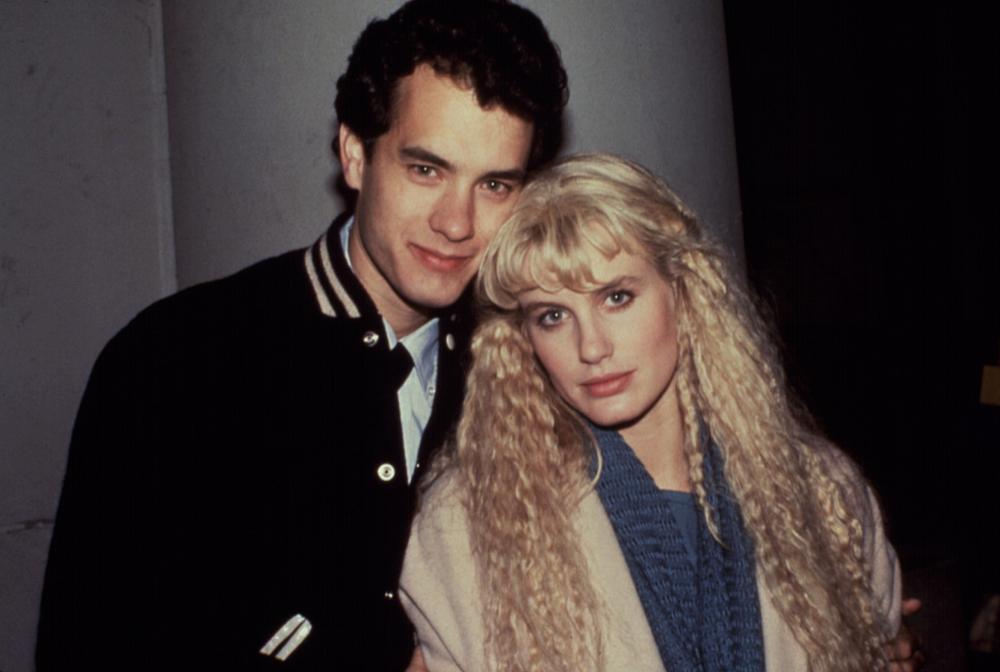 湯姆漢克斯與黛瑞漢娜主演「美人魚」,曾在美國締造票房佳績。圖/摘自imdb