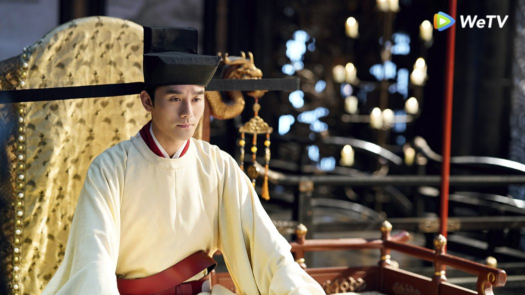 王凱在「清平樂」飾演宋仁宗。圖/WeTV提供