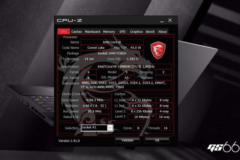 處理器採用剛上市的英特爾第10代 Core i9-10980HK八核心處理器,最...