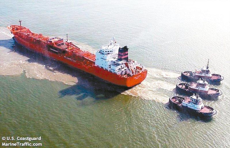 香港註冊油輪「SC Taipei」號。 圖/取自MarineTraffic網站