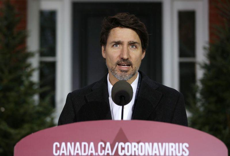 加拿大總理杜魯道(Justin Trudeau)。 法新社