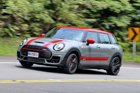 熱血玩咖帶你飛 MINI John Cooper Works Clubman ALL4試駕