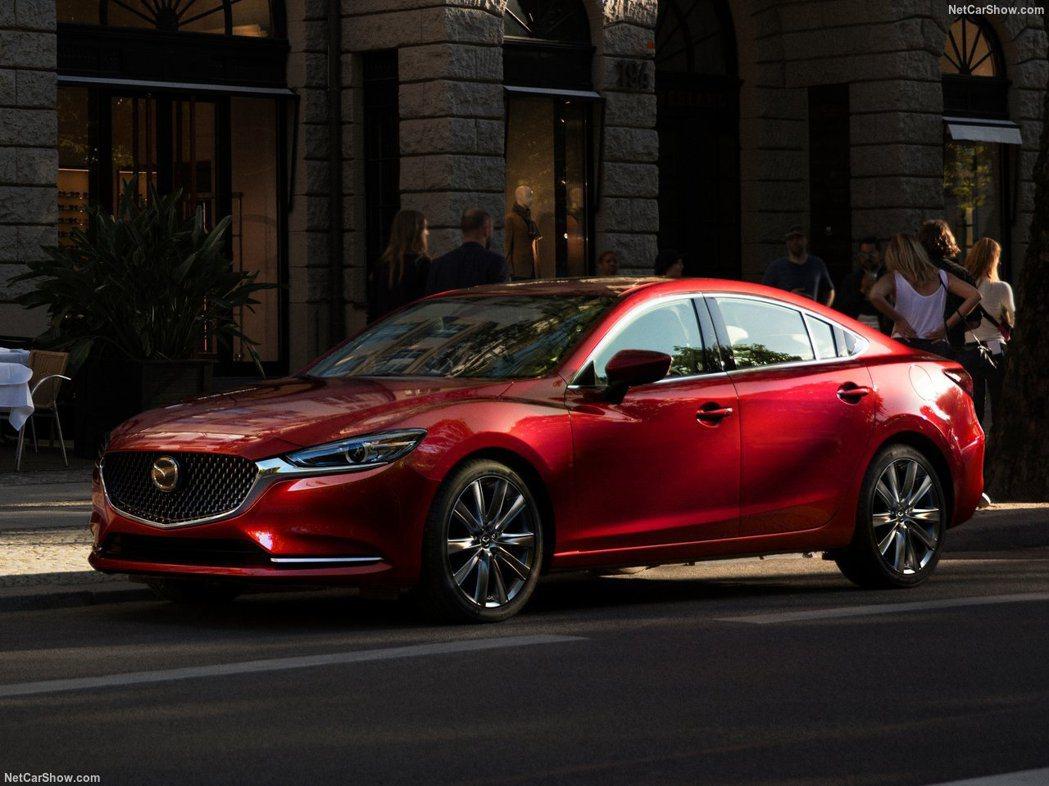 Mazda 6將成為一款大型後驅房車。 摘自Mazda
