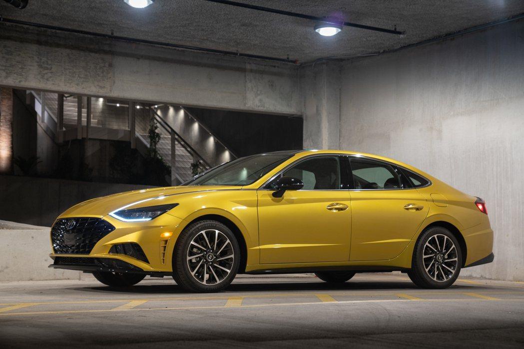 第八代Hyundai Sonata目前唯一的渦輪車型為1.6升T-GDi渦輪增壓...