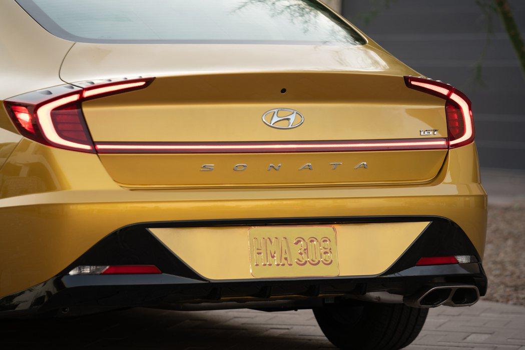 Hyundai Sonata在去年三月推出第八代車型 (DN8)。 摘自Hyun...