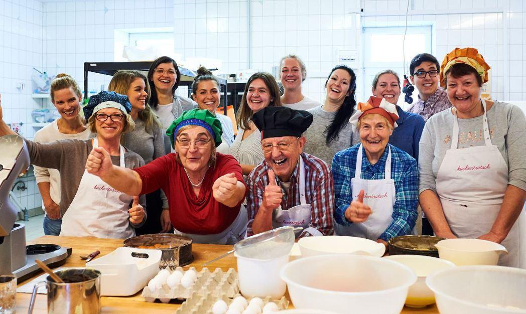 銀青共創的Kuchentratsch蛋糕,不僅美味,還飄散出濃濃人情味。 圖/L...