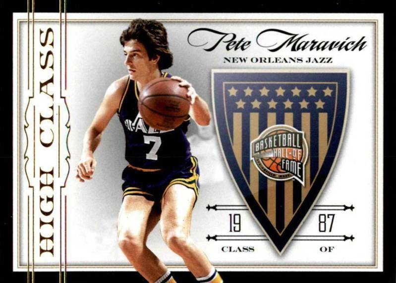 馬拉維奇是在1987年入選名人堂的傳奇球星,並在1996年獲選NBA50大巨星。 2019-10 panini球員卡
