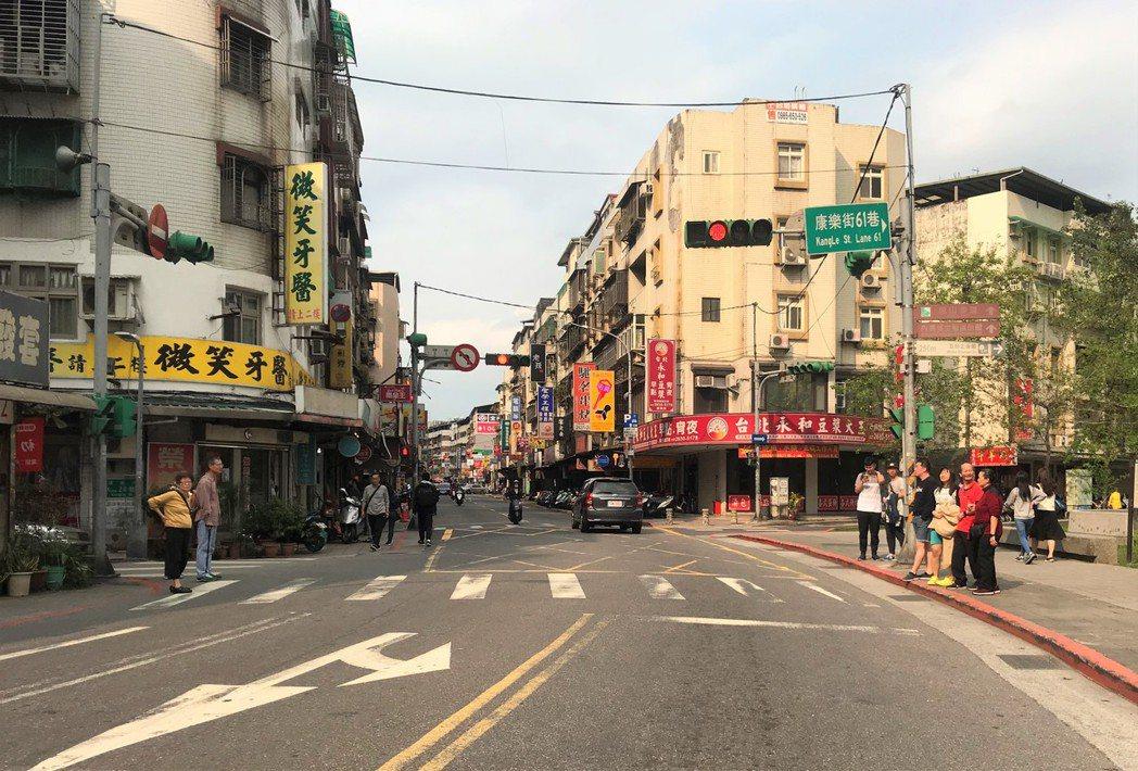 內湖康樂街。記者游智文/攝影