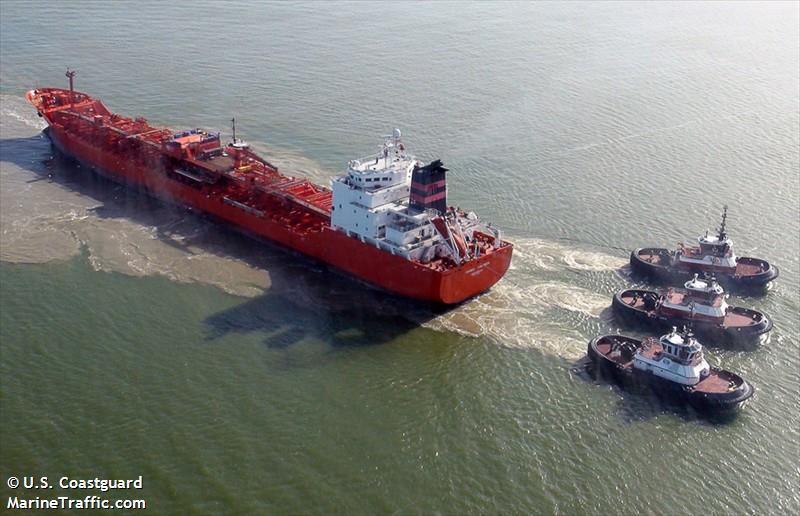 香港註冊油輪「SC Taipei」號。圖取自MarineTraffic網站