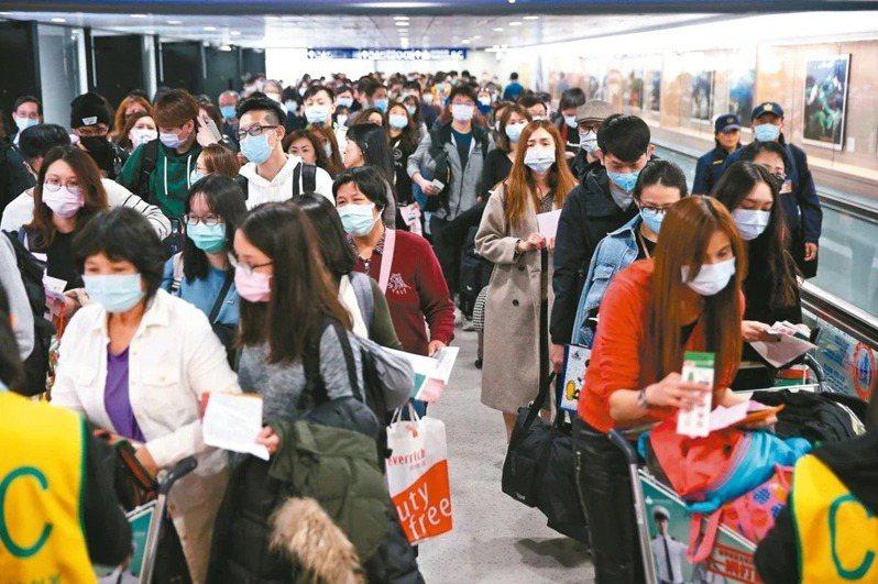 受到新冠肺炎疫情蔓延影響,國際貨幣基金(IMF)最新報告下修台灣2020年經濟成長率至-4%。聯合報系資料照片
