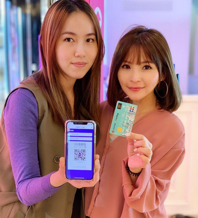 HAPPY GO Pay即日起新增三間合作銀行,即日起至6月30日,綁定指定銀行信用卡,享消費滿額最高10倍回饋,再享單月累積回饋、單筆滿額贈等優惠。 圖/HAPPY GO提供