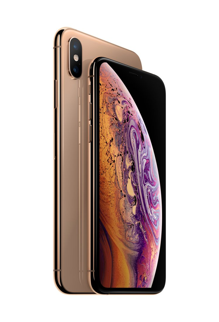 全新iPhone XS/XS Max下殺7折,再贈專屬保護殼。圖/蘋果提供