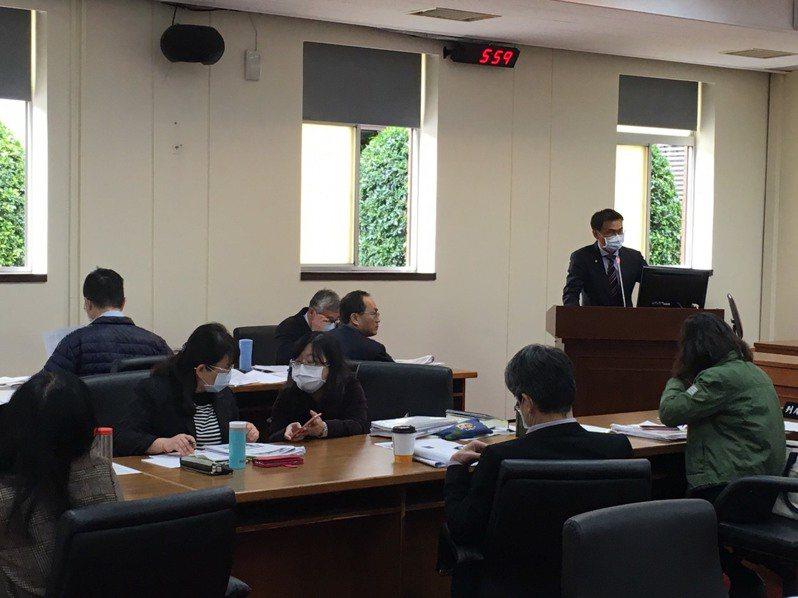 經濟委員會今天審查農民退休儲金條例草案。記者吳姿賢/攝影