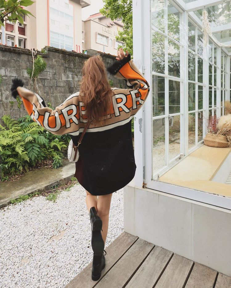許路兒俏皮演繹標誌圖案帆布及皮革Louise包款。圖/取自IG