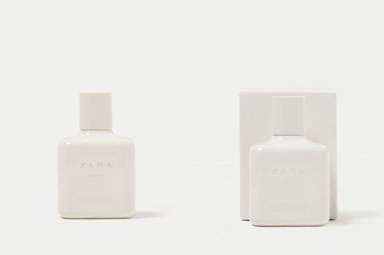 ZARA FEMME香水/100ml/490元。圖/摘自ZARA