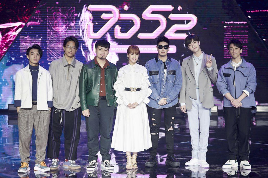 楊丞琳、潘瑋柏擔任「菱格世代DD52」導師。圖/野火娛樂提供