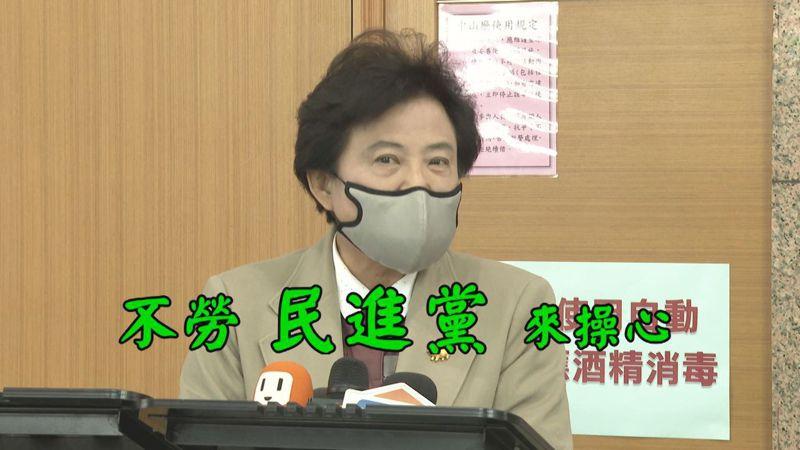 國民黨推出「佳龍華航改名計時器」嘲諷林佳龍,遭林佳龍回嗆,要中國國民黨改名為台灣國民黨,國民黨中常委沈智慧也酸回,改名議題不勞民進黨來操心。記者陳煜彬/攝影