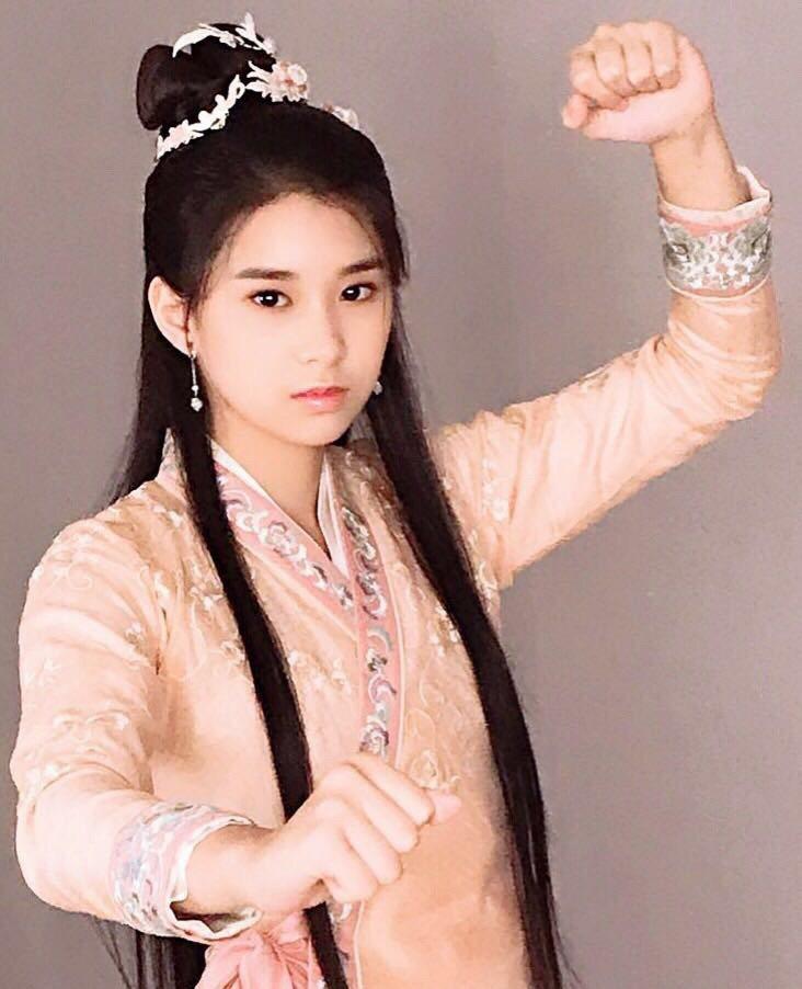 劉錫明的女兒劉安晴曾有過幾次演出經驗。圖/劉錫明提供