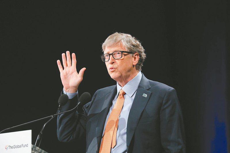 長期捐助世衛的微軟創辦人蓋茲,指川普停止資助世衛的決定危險。 (法新社)