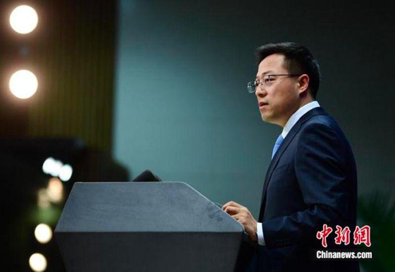中共外交部發言人趙立堅,日前曾在推特發文指稱,「可能是美軍把疫情帶到武漢」引發軒然大波,加劇中美兩國外交磨擦。中新社