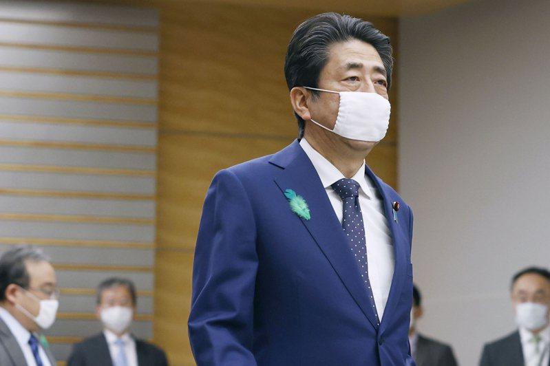 日本首相安倍晉三。 美聯社