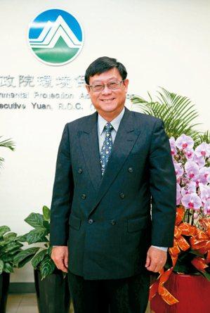 環保署署長張子敬希望追求經濟與環保雙贏。 記者林俊良/攝影