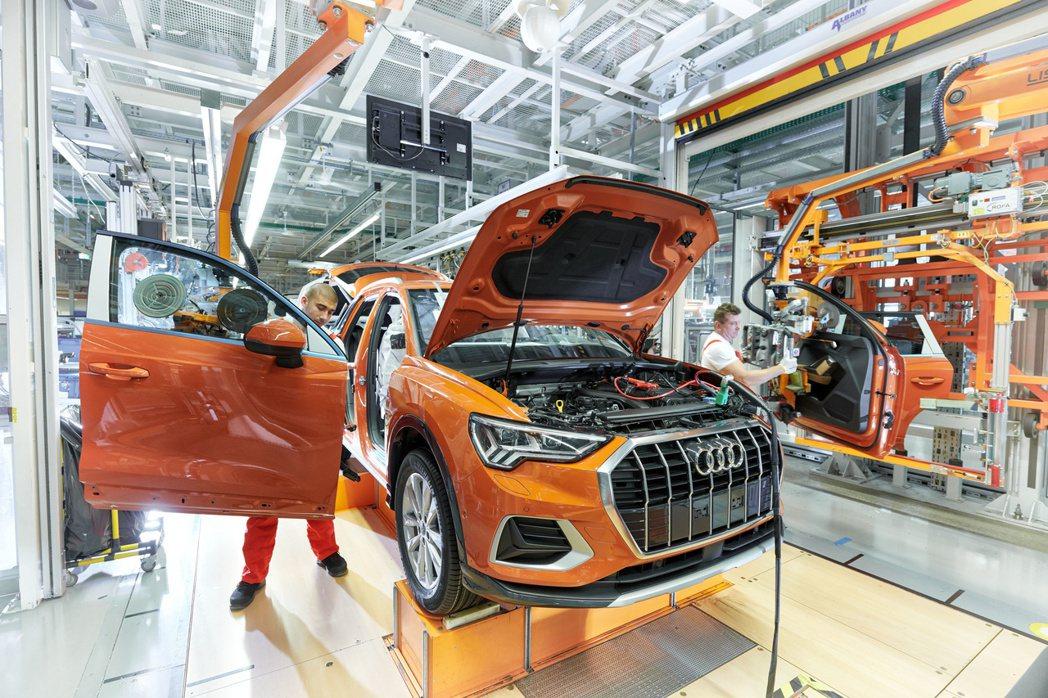 歐洲的限制措施,使汽車製造商面臨重大經濟衝擊。 摘自Audi