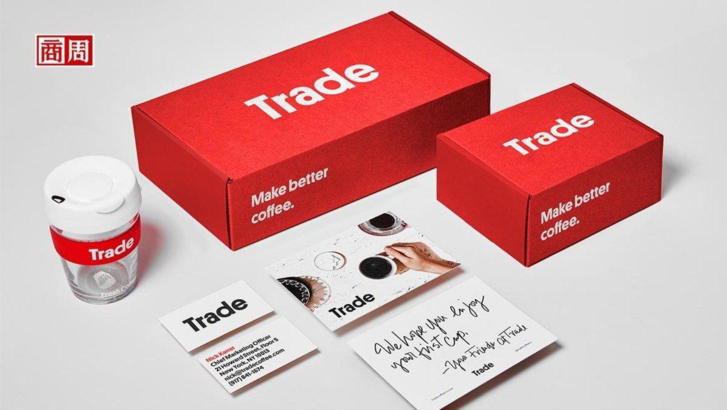 Trade Coffee販售全美各地的咖啡,透過線上測驗、咖啡配對的選物形 式,...
