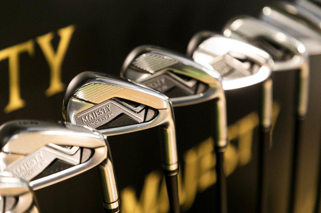 MAJESTY瑪嘉斯帝高爾夫球具品牌,新推出專為男性量身打造的全新CONQUES...