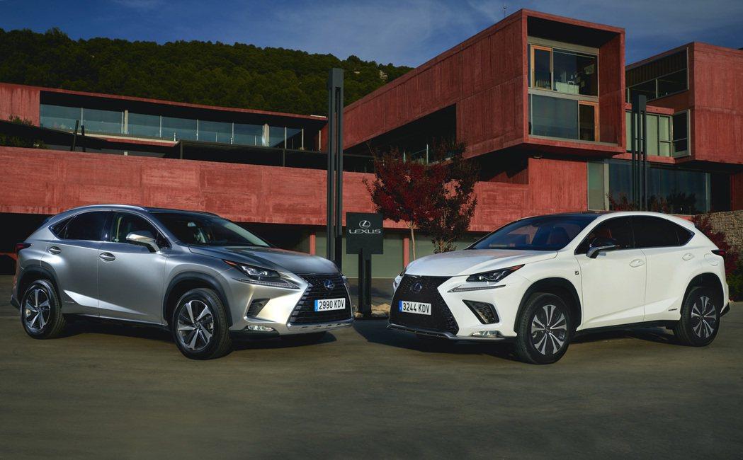 隨著「NX450h+」新車名的出現,讓外界引頸期盼Lexus的首款插電車。 摘自...