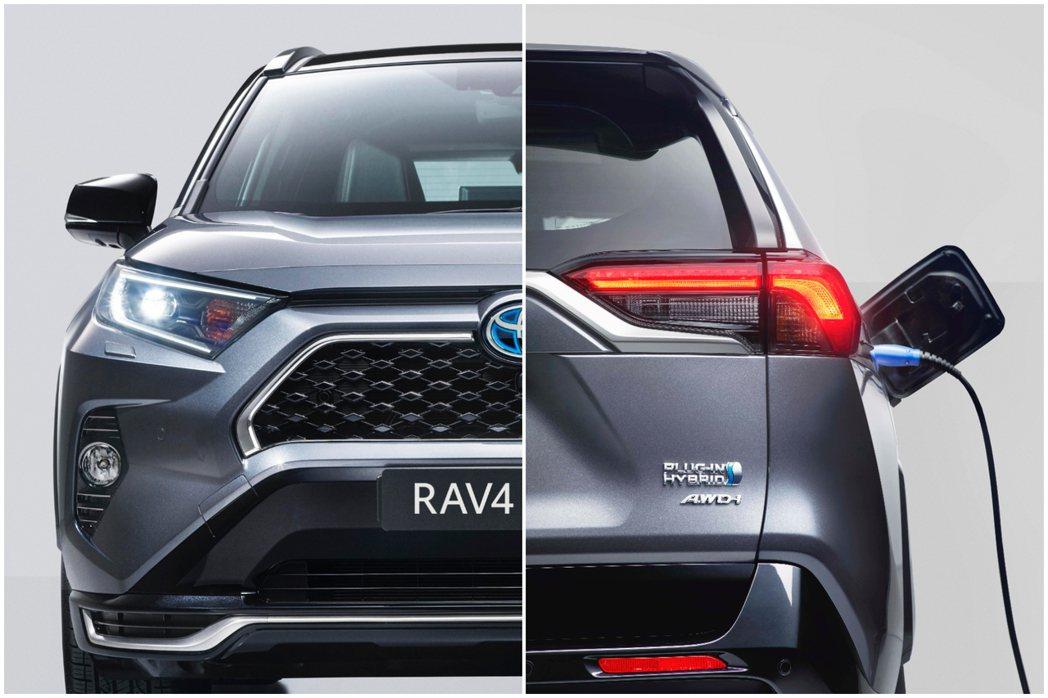 Toyota RAV4 Prime是車系第一款插電式油電混合車。 摘自Toyot...