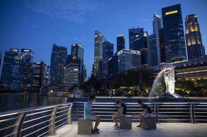 作家顏擇雅提出台灣勝過新加坡的8大優點。圖為新加坡城市一景。 歐新社