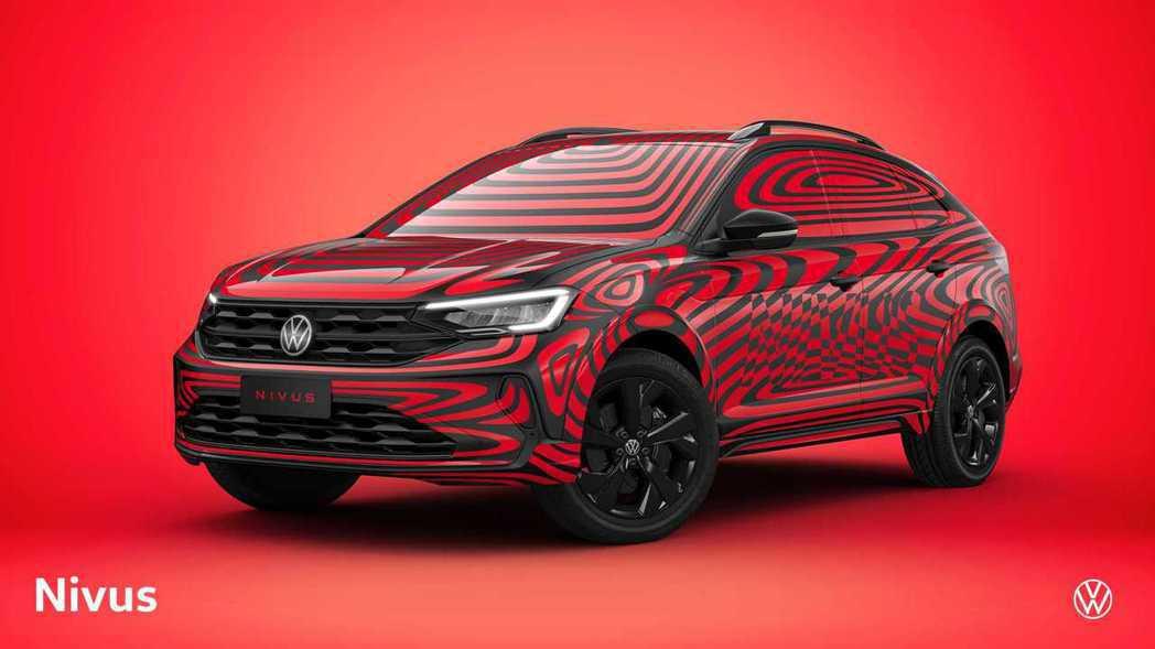 Volkswagen Nivus偽裝廠照。 摘自Volkswagen do Br...