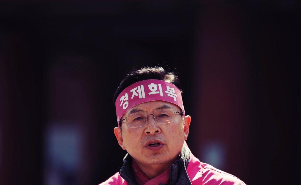 在「一級戰區」的首爾市鐘路區,迎戰李洛淵的正是未來統合黨黨魁黃教安。 圖/美聯社
