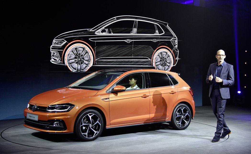Volkswagen Polo。 摘自Volkswagen