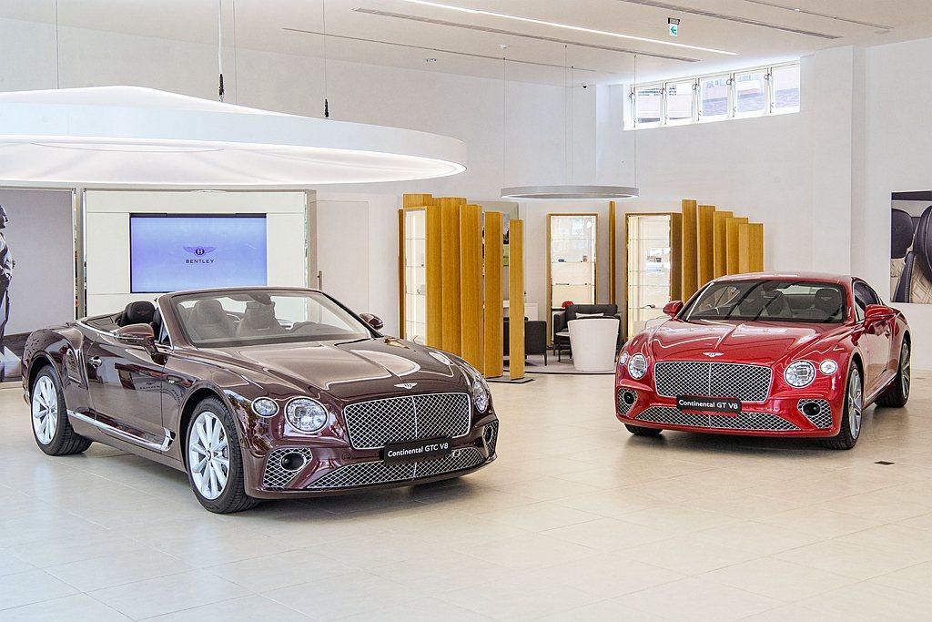 Bentley台灣總代理永三汽車導入Continental GT V8動力車型。...