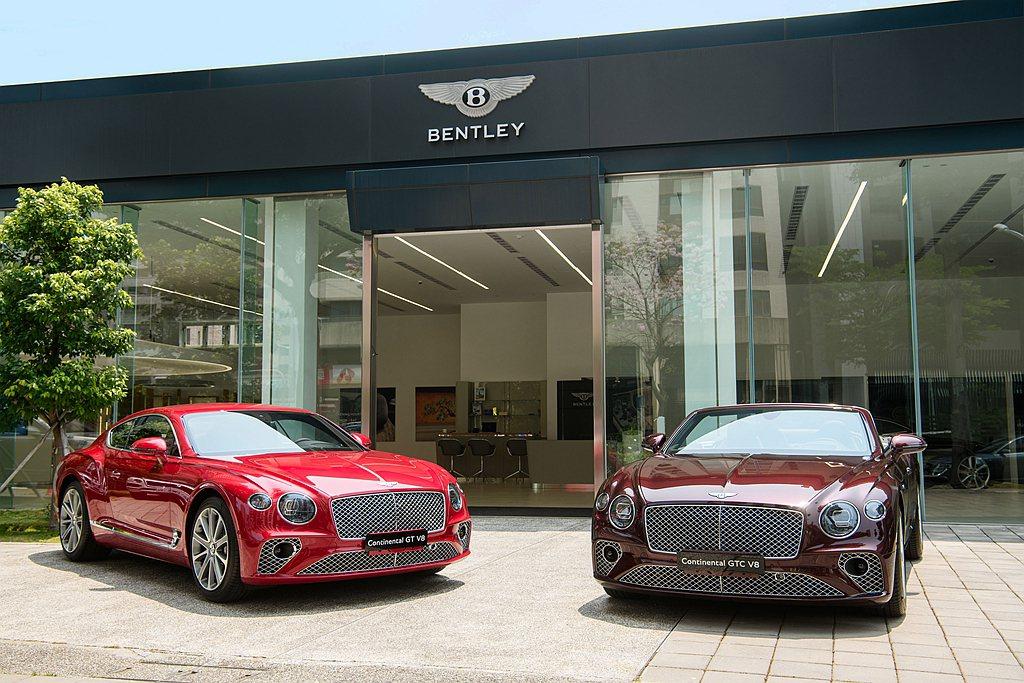 Bentley Continental GT V8標準車型在台建議售價為1,18...