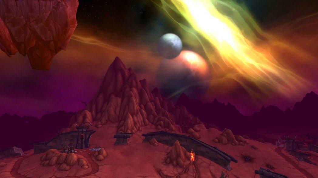 外域的地景之一,地獄火半島