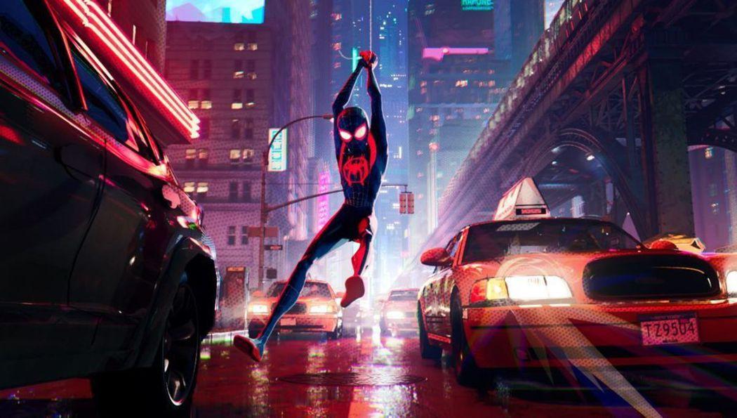 「蜘蛛人:新宇宙」獲得奧斯卡獎,叫好叫座。圖/摘自imdb